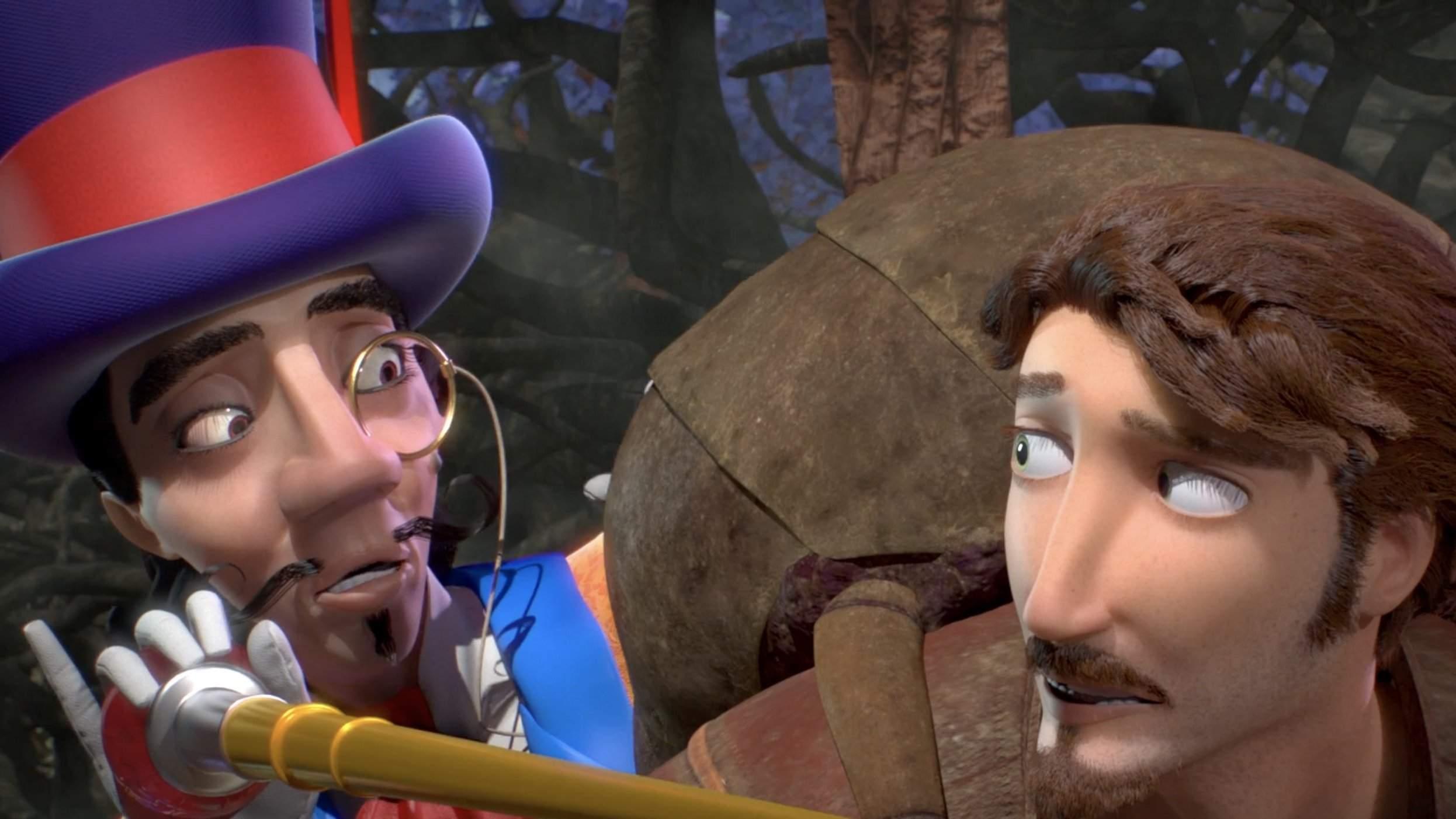 Le voyage du pèlerin (Le film d'animation)