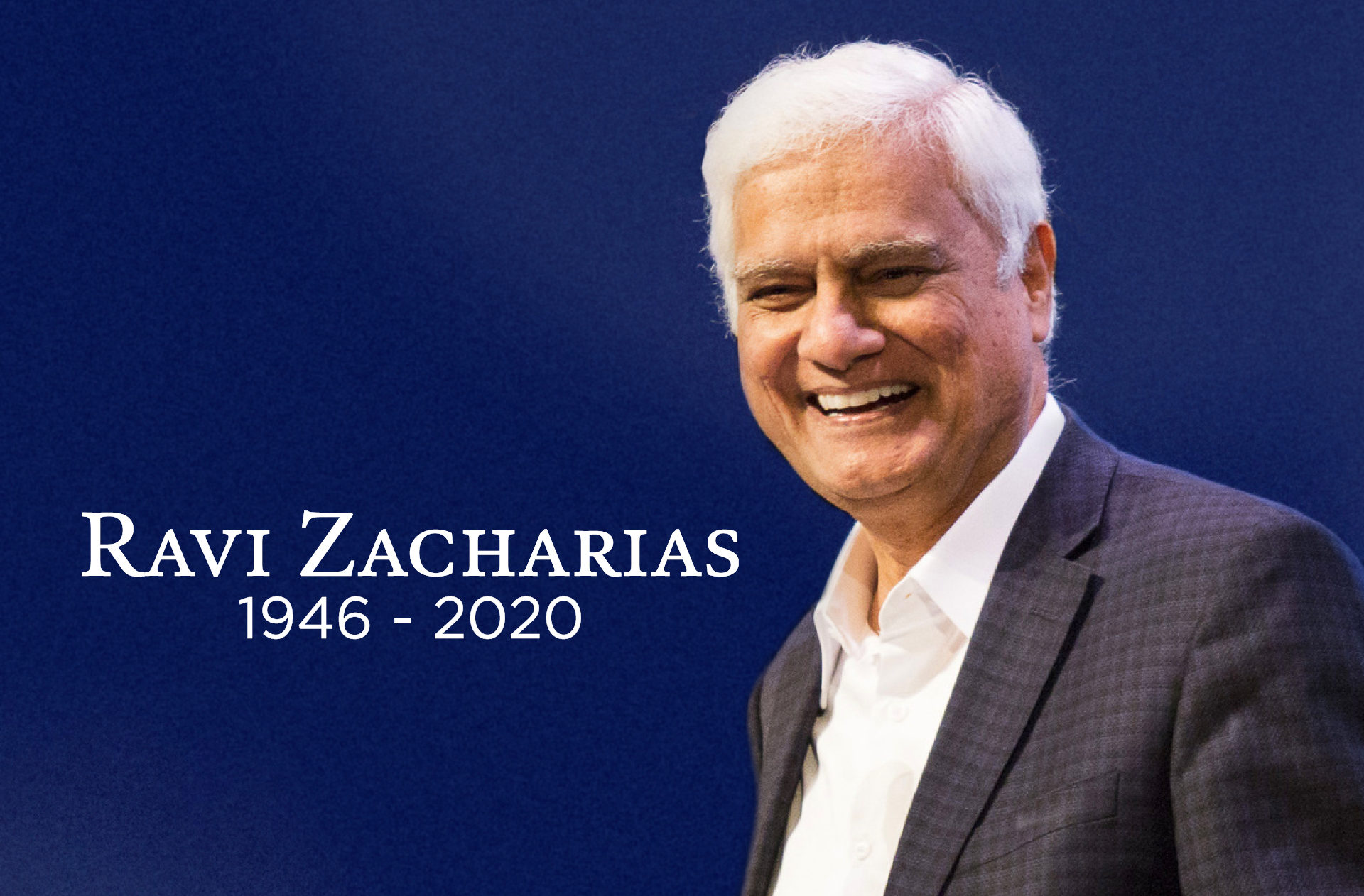 Un défenseur s'en est allé ! Ravi Zacharias, l'apologiste.